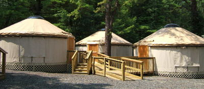 PEEC Yurt Village and Bath House