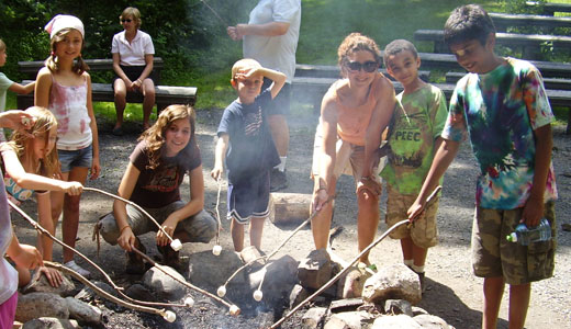 Nature Adventure Day Camp - Summer Camp Campfire