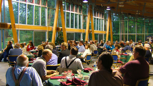 the dining hall at peec